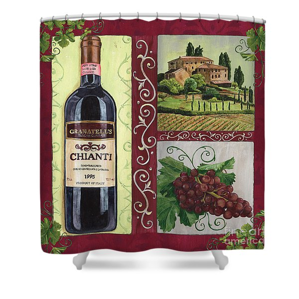 Tuscan Collage 1 Shower Curtain