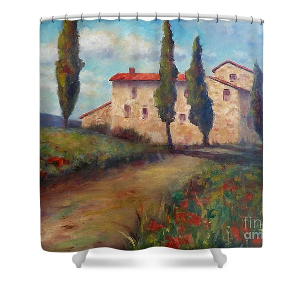 Tuscan Home Shower Curtain