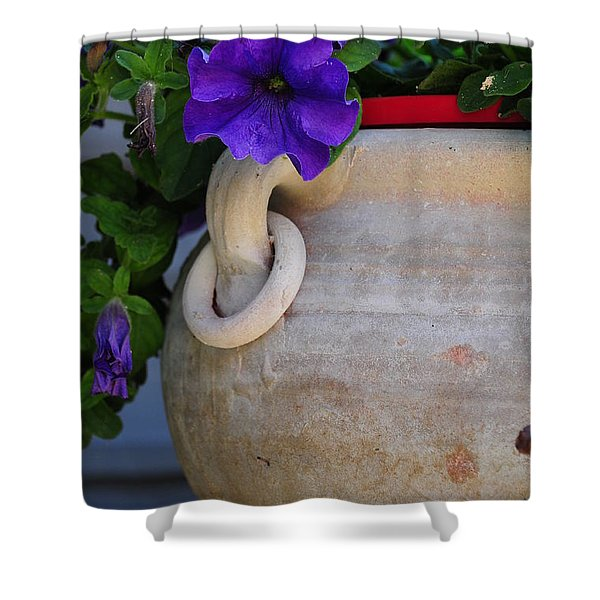 Tuscan Pot Shower Curtain