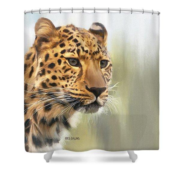 Tutku Shower Curtain
