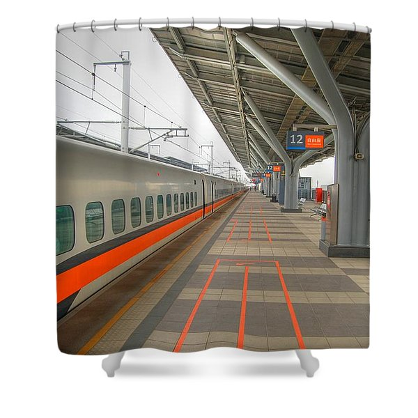 Tw Bullet Train 2 Shower Curtain