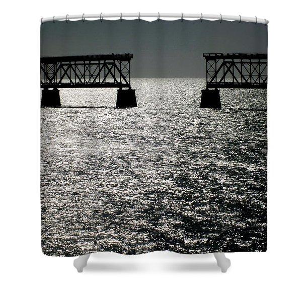 Twilgiht Railroad Shower Curtain