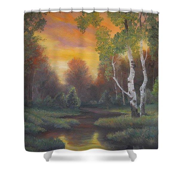 Twilight Fall  Shower Curtain