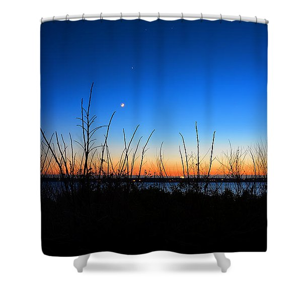 Twilight Moment Shower Curtain