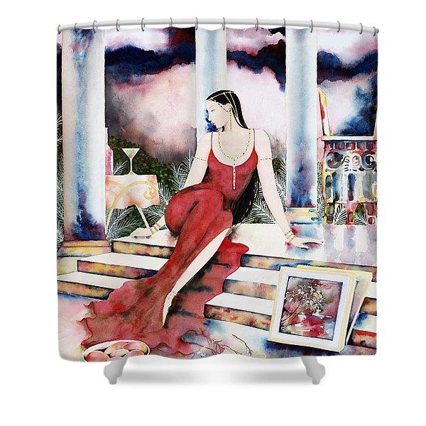 Twilight Surroundings Shower Curtain