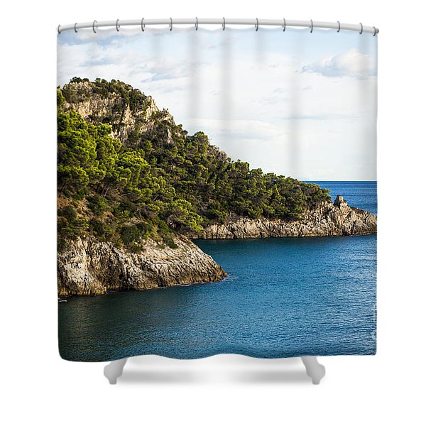Twin Points Of Italy Shower Curtain