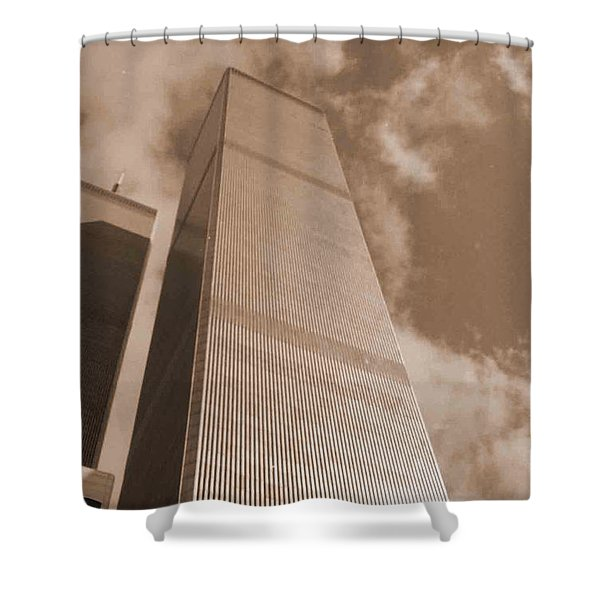 Twin Tower Shower Curtain