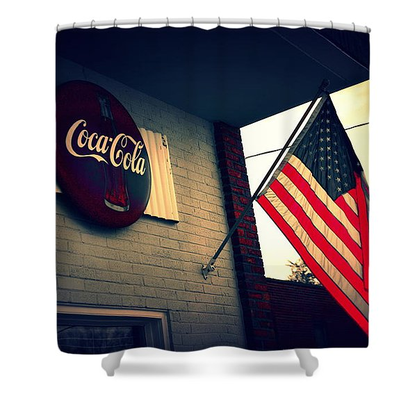 Two American Favorites Shower Curtain