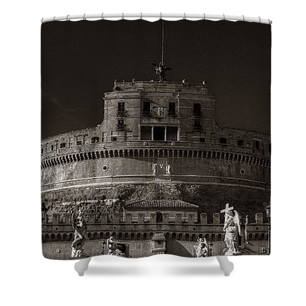 Two Angels Shower Curtain