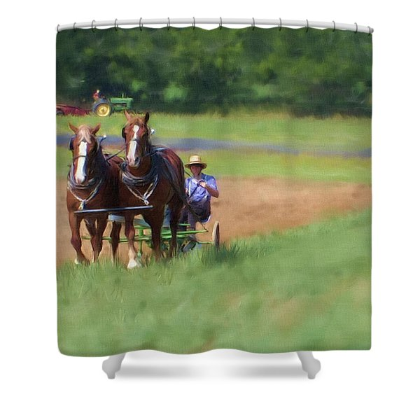 Two Antiques Shower Curtain