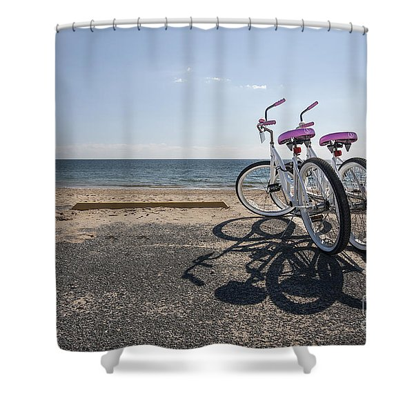 Two If By The Sea Shower Curtain