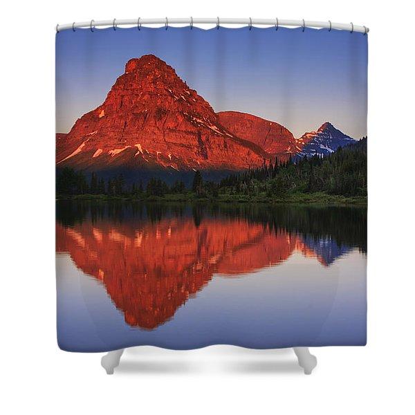 Two Medicine Sunrise Shower Curtain
