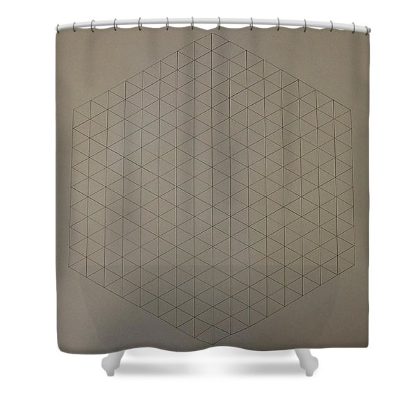 Two To The Power Of Nine Or Eight Cubed Shower Curtain