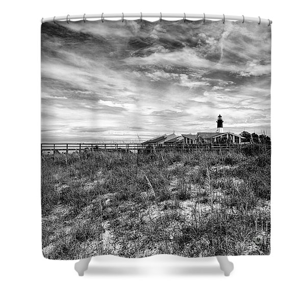 Tybee Island Light Station Shower Curtain