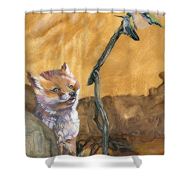 Tyrah's Tale Shower Curtain