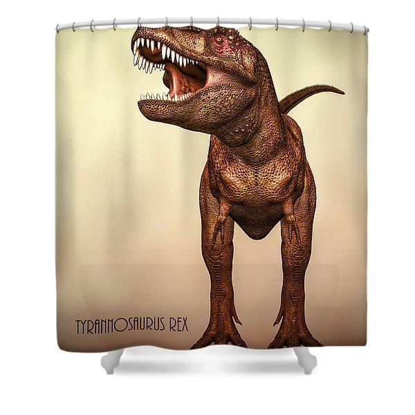 Tyrannosaurus Rex 2 Shower Curtain