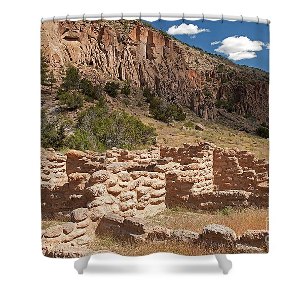 Tyuonyi Bandelier National Monument Shower Curtain