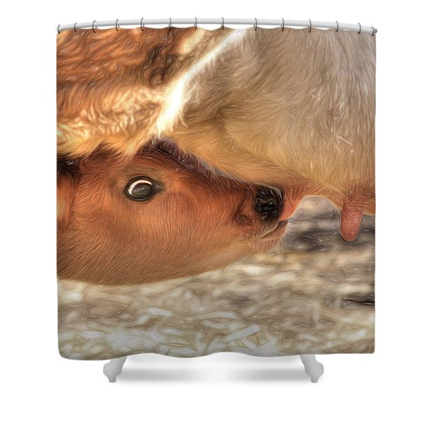Udderly Delicious Shower Curtain