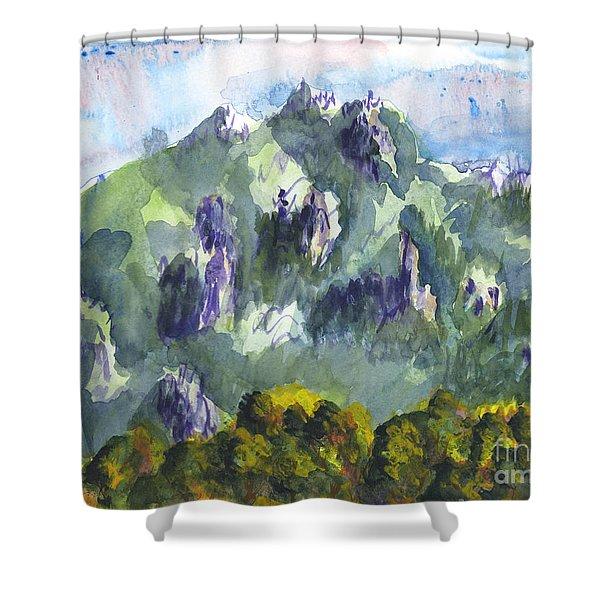 Uintah Highlands 1 Shower Curtain