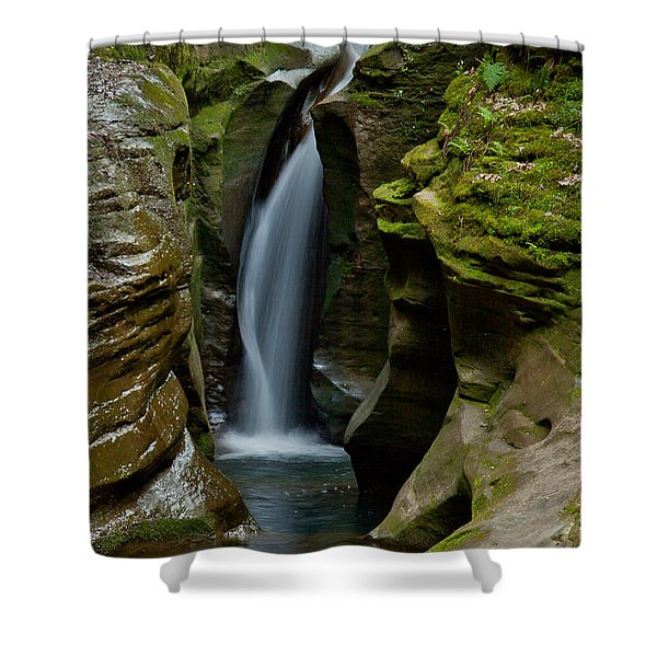 Un-named Falls Shower Curtain