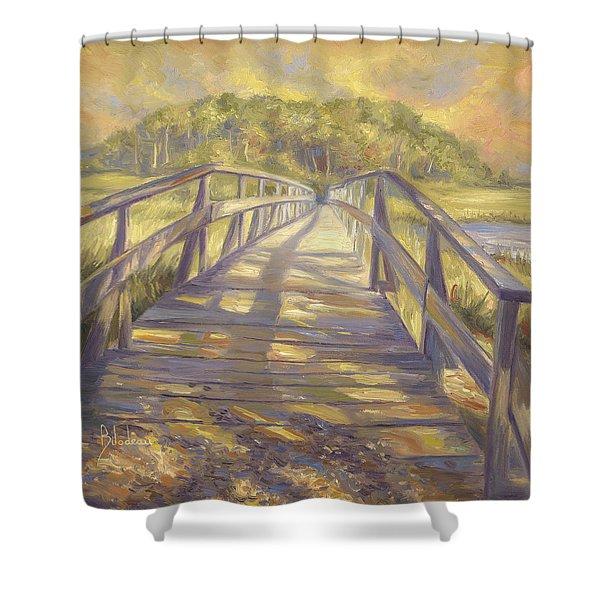 Uncle Tim's Bridge Shower Curtain