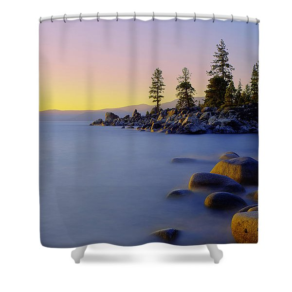 Under Clear Skies Shower Curtain