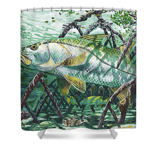 Undercover In0022 Shower Curtain