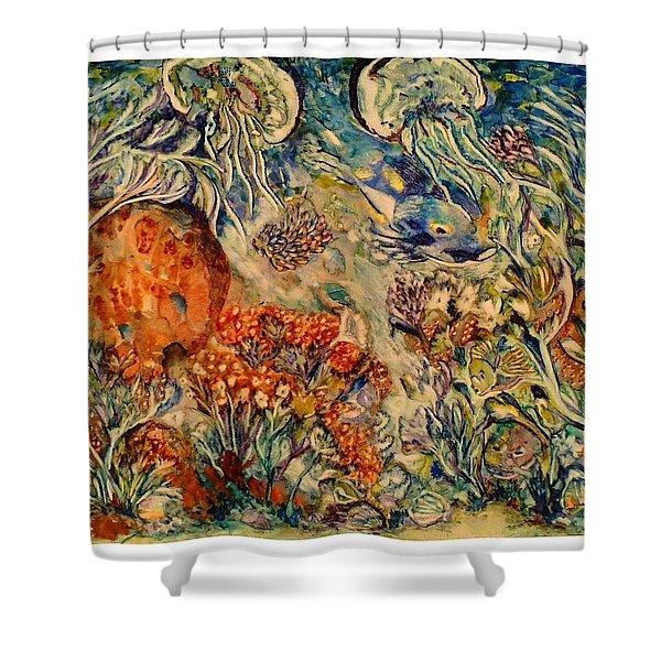 Undersea Friends Shower Curtain