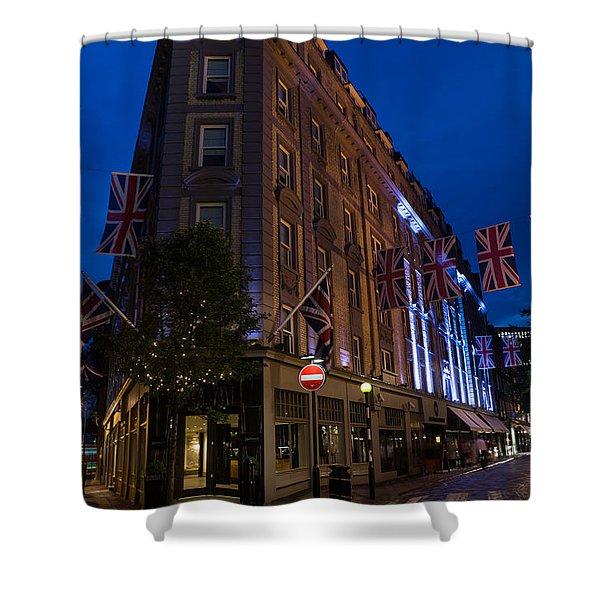 Union Jacks - Flags At Seven Dials Covent Garden London Shower Curtain