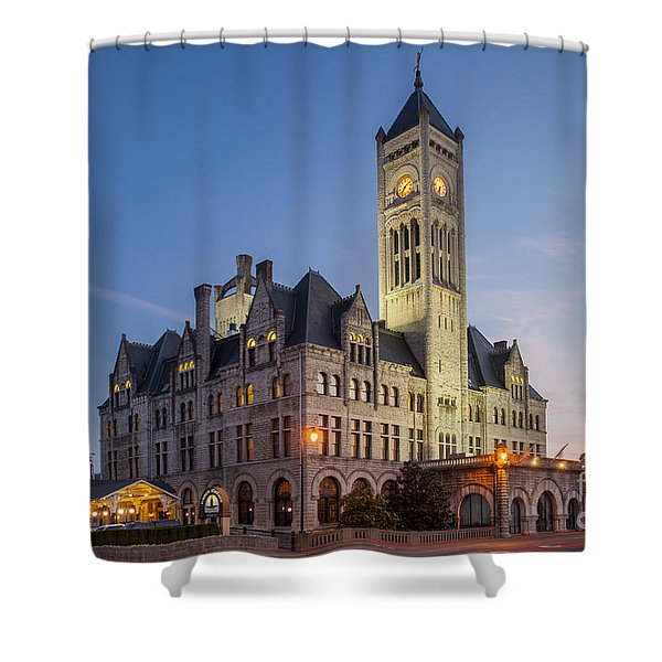 Shower Curtain featuring the photograph Union Station  by Brian Jannsen