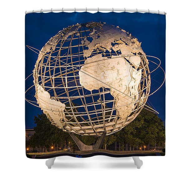 Unisphere Nights Shower Curtain