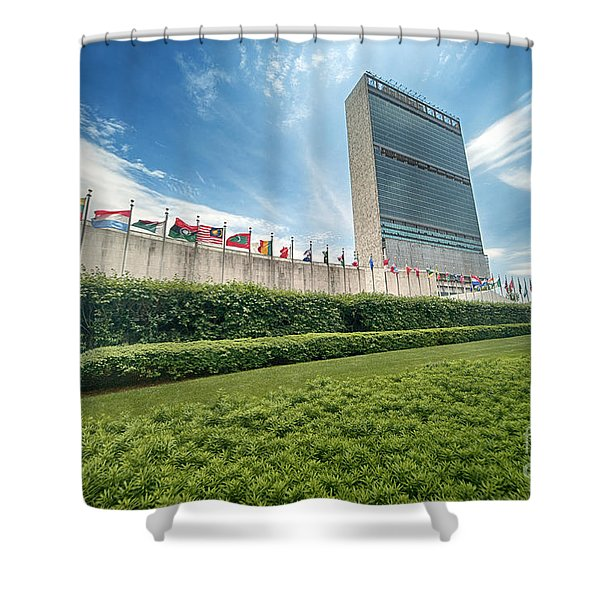 United Nations Shower Curtain