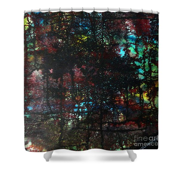 Evening Of Duars Shower Curtain