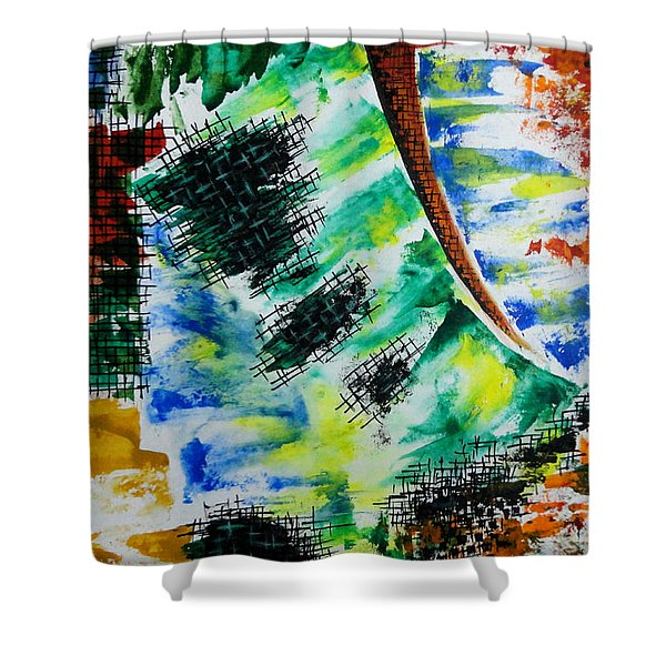 Different Mode Shower Curtain