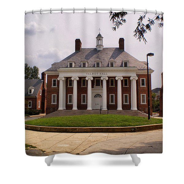 University Of Maryland College Park Shower Curtain