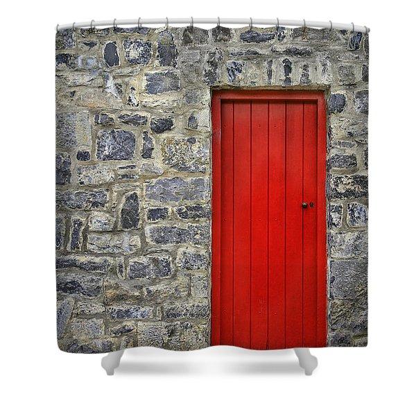Unlock The Door Shower Curtain