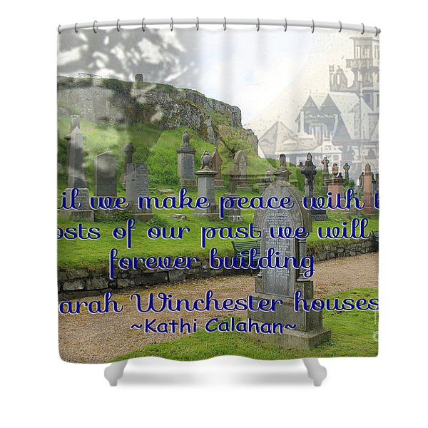 Until We Make Peace Shower Curtain