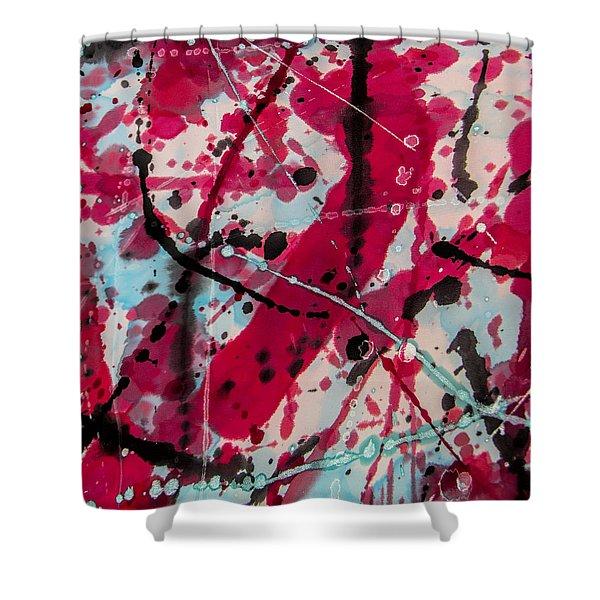 My Bloody Valentine Shower Curtain