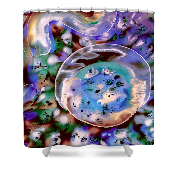 Enigma Defined Shower Curtain