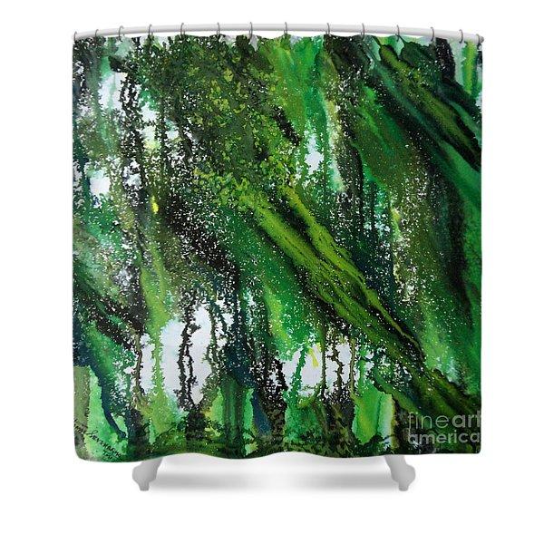 Forest Of Duars Shower Curtain