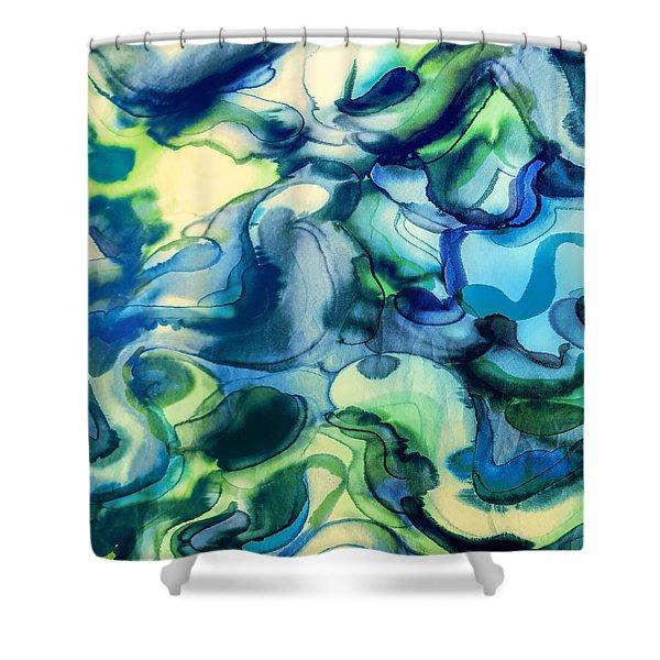 Fake Ophelia Shower Curtain