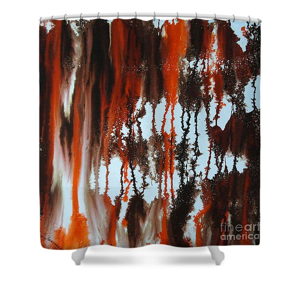 Sunrise Of Duars Shower Curtain