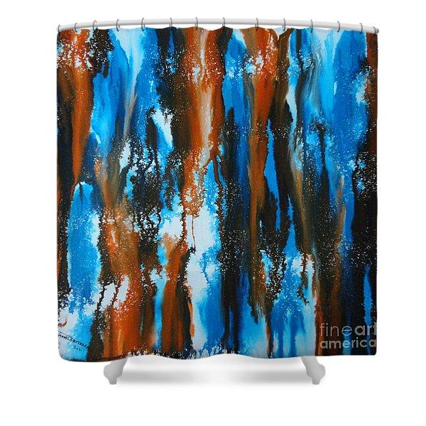 Winter Vs. Summer Shower Curtain