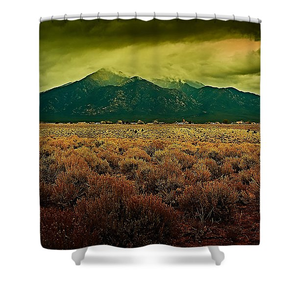 Untitled Xxv Shower Curtain
