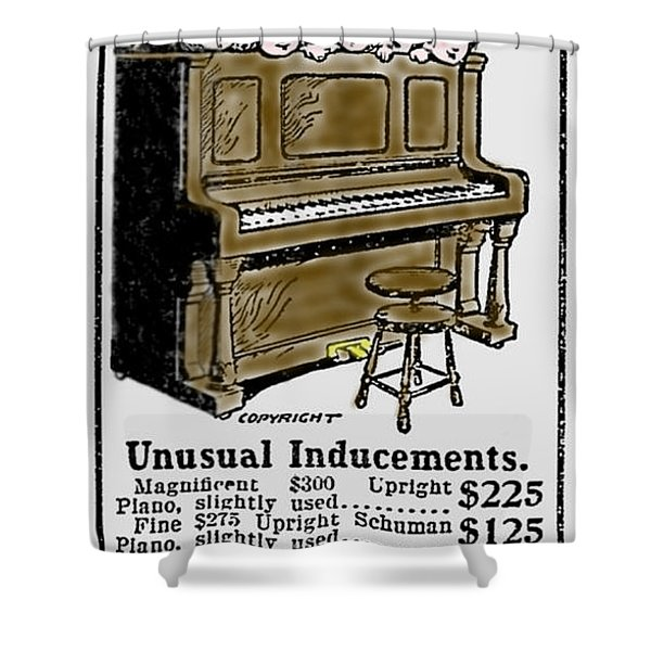 Unusual Inducements Shower Curtain