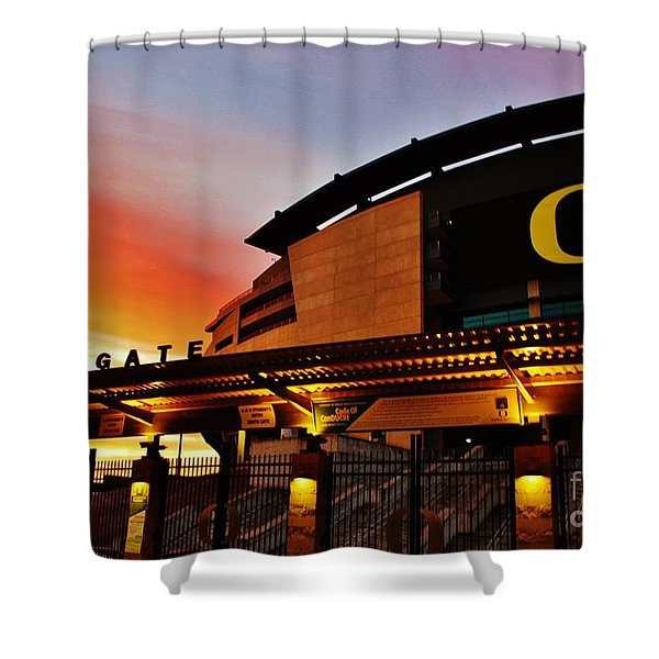 Uo 1 Shower Curtain