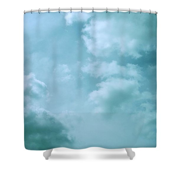 Up Into The Heavens Shower Curtain