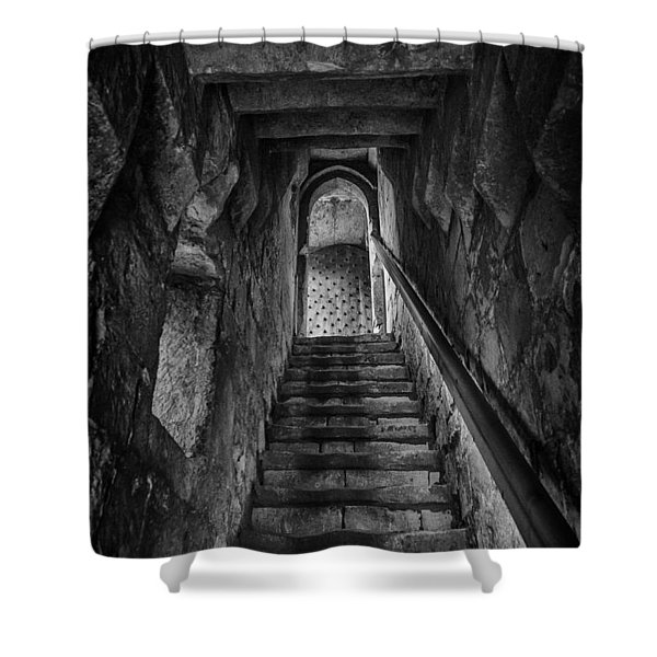 Up To The Walls Shower Curtain