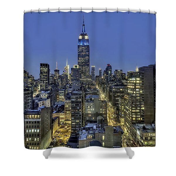 Upon A Restless Night Shower Curtain
