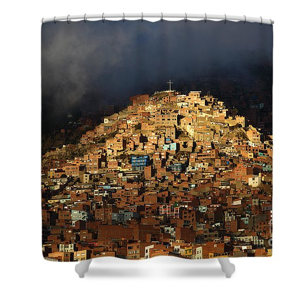 Urban Cross 2 Shower Curtain